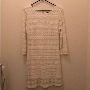As U Wish crochet style dress
